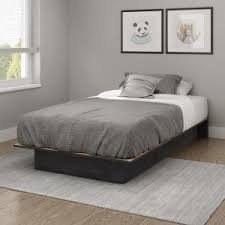 South Shore Twin Platform Bed South Shore Libra Twin Size Platform Bed In Pure Black 3070235