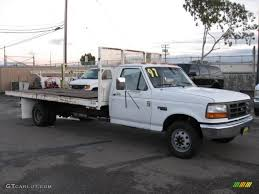 Ford F350 Dump Truck 1997 - 1997 oxford white ford f350 xl regular cab dually stake truck
