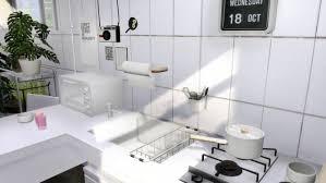 compact kitchen at slox sims 4 updates