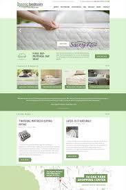 seo u0026 website design for the organic bedroom