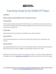 nasm study guide pdf 2016 nasm cpt bone anatomical terms of motion