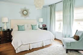 bedroom ideas awesome blue and green geometric curtains master
