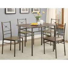 Wayfair Kitchen Table by 5 Piece Kitchen U0026 Dining Room Sets You U0027ll Love Wayfair