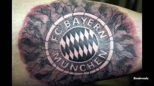 football tattoos bayern munich 1 5 youtube