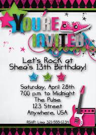 birthday invites cozy teenage birthday party invitations designs