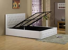 Folding Guest Bed Ikea Ottomans Double Bed With Storage And Mattress Small Space