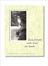 pet sympathy cards the borealis press inc