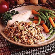 nelda s sausage and rice dressing recipe taste of home