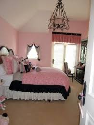 Gracies Pink And Black Bedroom WE DECIDED TO PAINT ALL  WALLS - Girls bedroom ideas pink and black