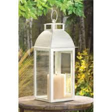 Lantern Wedding Centerpieces 20 Distressed Ivory Candle Lantern Wedding Table Centerpieces
