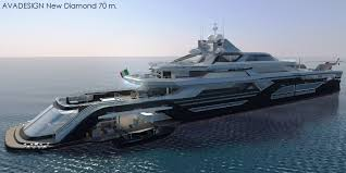 Mega Yacht Floor Plans by The 70m New Diamond Superyacht Design Project Aft Renering