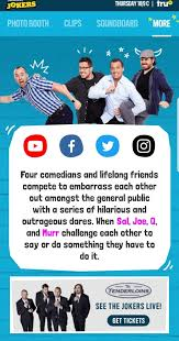 sweet booths all characters welcome trutv impractical jokers android apps on play