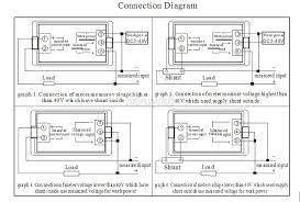 dc 0 200v 10a voltmeter ammeter lcd panel amp digital volt gauge