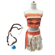 moana dress cosplay costumes halloween costumes for women kids