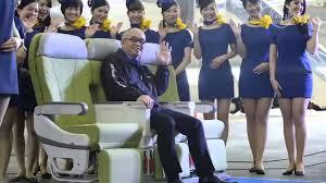 shortest skirts budget airline flight attendants skirts