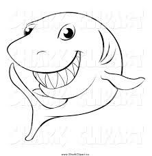 free printable shark clipart 56