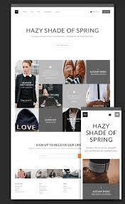 free ecommerce theme psd for clothing store free psd templates