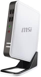 msi ordinateur de bureau msi dc100 un netbook dans un pc de bureau itespresso fr