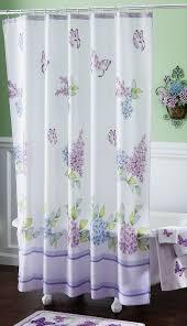 lavender shower curtains u2013 a real romantic design de lune com