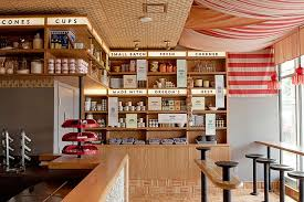 Ice Cream Shop Floor Plan 9 Ice Cream Shops With Sweet Designs Photos Architectural Digest