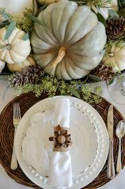 soft and thanksgiving tablescape