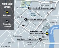Map Of New Orleans Wards by Removing New Orleans U0027 Liberty Place Monuments Means City Moving To