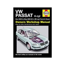 haynes workshop manual for vw passat