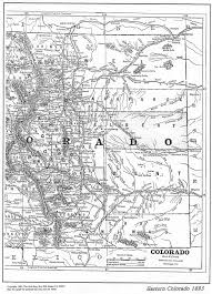 County Map Of Colorado Colorado Maps Us Digital Map Library Table Of Contents Page