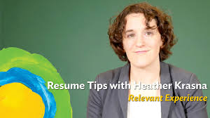 How Many Years Should You Put On A Resume What Should You Do With Your Resume If You Don U0027t Have Relevant