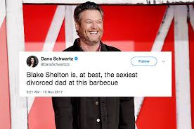 Blake Shelton Meme - so blake shelton is 2017 s sexiest man alive and people have a lot