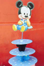mickey mouse cupcake stand baby mickey mouse centerpiece