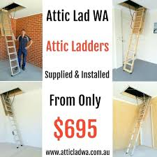 pull down attic stair replacement pull down loft ladder you can