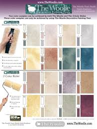 Paint Colors At Home Depot by Home Depot Faux Painting Color Sample Combinations By The Woolie