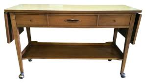 Broyhill Computer Desk Broyhill Sculptra Serving Cart Chairish