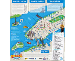 Map Of State Of New York by Maps Of New York Detailed Map Of New York City Tourist Map
