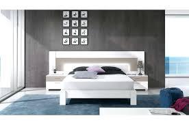 chambre adulte design blanc design d intérieur lit moderne 2 personnes daclicieux chambre
