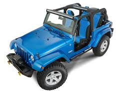 jeep light blue quadratec 2 bolt led light bar windshield pillar mounting
