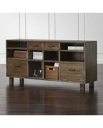 crate and barrel file cabinet surprise 32 off crate barrel oak park ii credenza filing