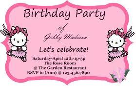 hello kitty party invitations u2013 gangcraft net