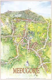Bosnia Map Medjugorje Map Maps Of Surrounding Mostar Bosnia And
