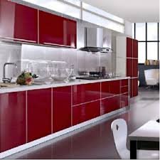 Particle Board Kitchen Cabinets China High Gloss Lacquer Finished Kitchen Cabinets Particleboard