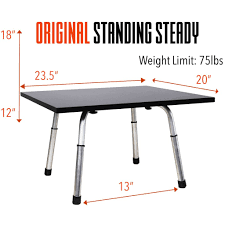 original stand steady standing desk