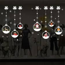 Nightmare Before Christmas Window Decorations by Christmas Window Stickers Ebay