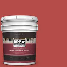 Home Depot Behr Stain by Behr Premium Plus Ultra 5 Gal T17 18 And Spicy Flat Exterior