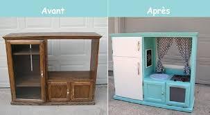 tele cuisine idée relooking cuisine comment transformer un meuble télé en