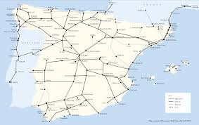 Granada Spain Map by Trains To Spain Destinations Loco2