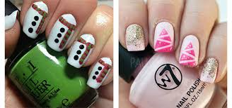 18 easy u0026 cute christmas nail art designs ideas u0026 trends 2015