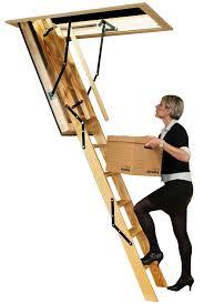 heavy duty folding attic stairs