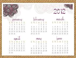 creative mamma free printable 2012 one page doodle calendar
