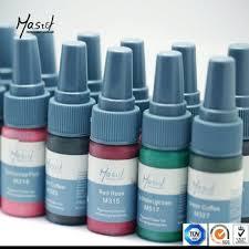 mastor permanent makeup micro pigment pure plant material tattoo